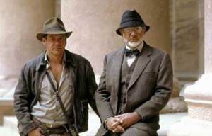 Indiana et Henry Jones