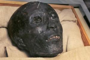 Le visage de Toutânkhamon